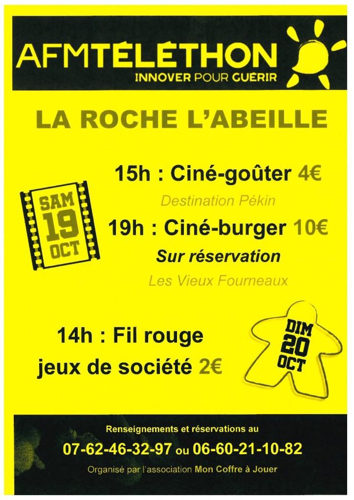 La ROCHE L'ABEILLE