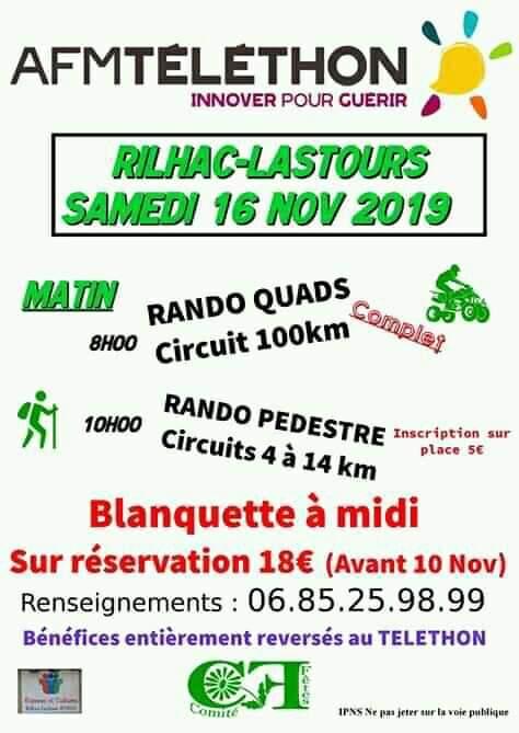 16/11 RILHAC LASTOURS